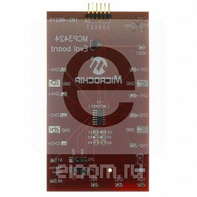 MCP3424EV